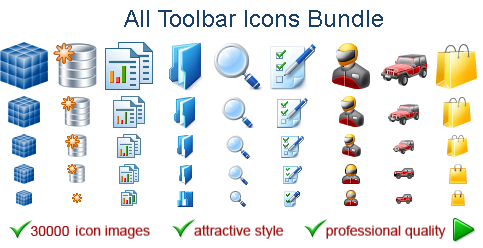 A mega-pack of icons for software developers