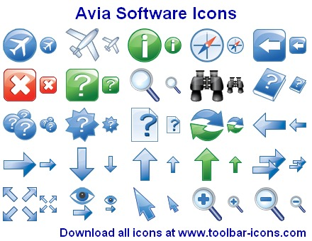 Click to view Avia Software Icons 2013.1 screenshot