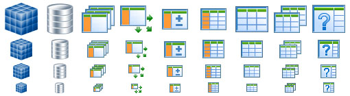 Database Icons