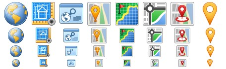 geolocation Icons