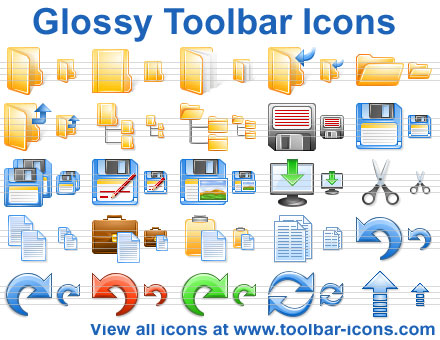 Click to view Glossy Toolbar Icons 2013.3 screenshot